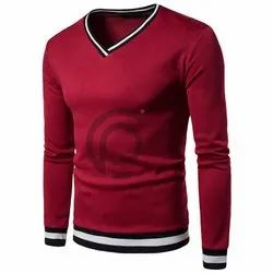 Premium High Quality Cotton Fleece V Neck Sweatshirt