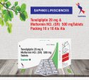 Teneligliptin 20 MG Metformin HCL (SR ) 500 Mg Tab
