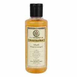 Khadi Orange & Lemongrass Face Wash - SLS & Paraben Free