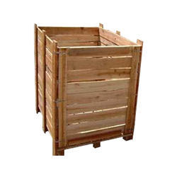 Wooden Packaging Pallets Box, Size: 800mm X 800 Mm