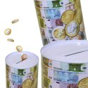 Currency Printed 5 Pcs Money Saver Coin Box