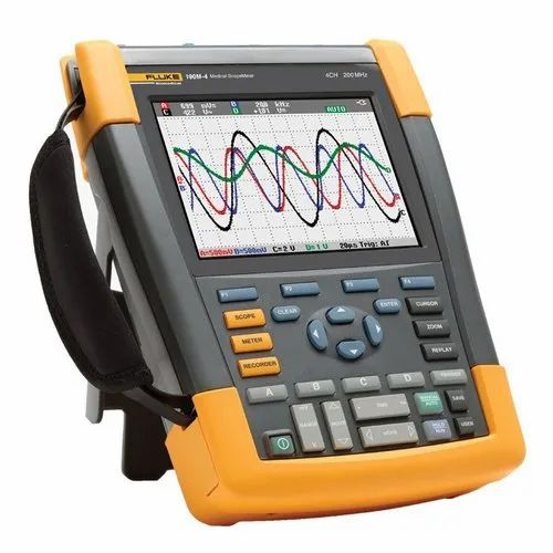 Handheld Digital Oscilloscope with Software