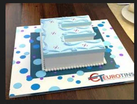 Blue celebrate birthday with 1st letter e cake rs 2100 kilogram blue celebrate birthday with 1st letter e cake altavistaventures Image collections