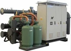 KEHEMS Technologies Low Temp Refrigeration Chiller, Capacity: 13-200 TR, Refrigerant Used: R404a