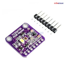 Robocraze  TCS34725 RGB Color Sensor with IR Filter and White LED