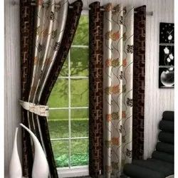 Cotton Door Designer Printed Curtains
