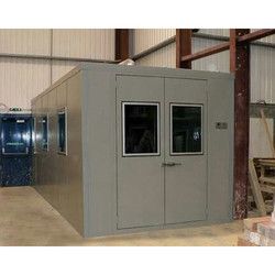 Gray Hinged Acoustic Door, For Office