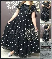 Mfc 1518 Flaired 1 Pcs Dress