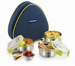Magnus Fresh Meal 3 Klip Lock Lunch Box