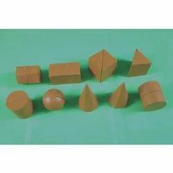 Magnetic Mensuration Geometrical Shape (In Wooden Sets)