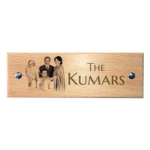 Wooden Name Plate Engraving Service in Jagadamba Junction ...