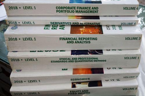2018 CFA Curriculum (Institute) Level 1 2 3