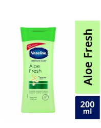 Vaseline Aloe Fresh Body Lotion 200ml MRP 210 rs/ selling price 170 rs/