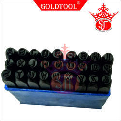 Gold Tool A to Z Stamps