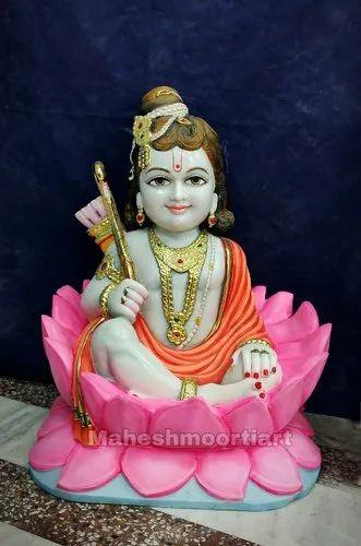 Marble Ramlalla statue