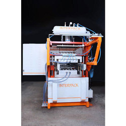 Thermoforming Machine with 3 Axis Servo and Robotic Arm System