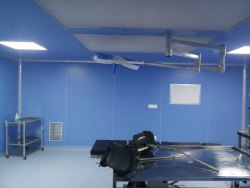 High Pressure Laminated Sheet Partition For Hospital