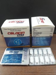 Cissus Quadrangularis 500 mg., Calcium 500 mg., Vitamin D3  1000 iu