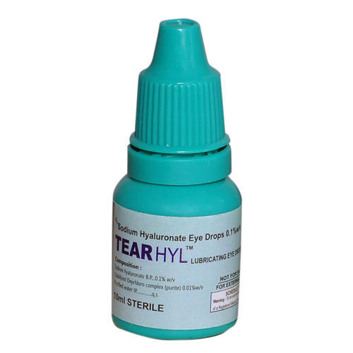 Image result for Sodium Hyaluronate Eye Drops