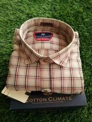 Yarn Dyed Cotton Shirts For Men