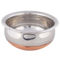Kasturi SS Handi With Copper Bottom, for Home