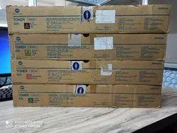 Genuine Konica Minolta TN-619 CMYK Toner Cartridge Set