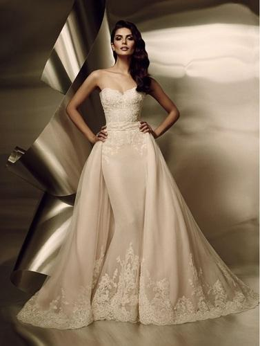 Bridal Gowns With Detachable Train
