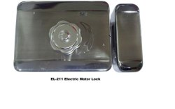 Electric Motor Lock UNI (EL-211), Finish Type: Stainless Steel