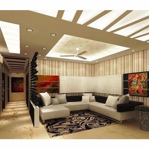 Syska Designer False Ceiling With Led Lighting Shape Round 15 W Rs 350 Square Feet Id