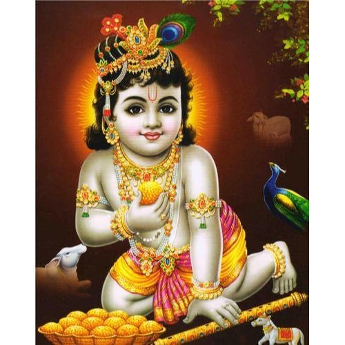 3d Krishna Wallpaper