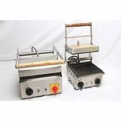 Commercial Sandwich Griller, Packaging Type: Carton Box