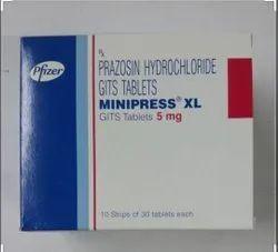 Pfizer Prazosin (5mg) Minipress XL 5mg, Tablet