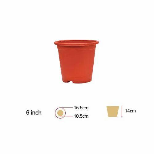 225 & 6 Inch Flower Pot