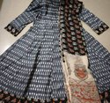 Printed Chudidar Suit