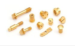 Brass Precision Parts, For Industrial, Packaging Type: Carton Box