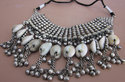 Navratri Garba Fashion Bib Vintage Dance Necklace Set