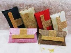 Beautiful & Elegant Jute Clutch Bags