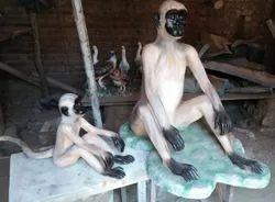 Fibre Glass Langur Statue
