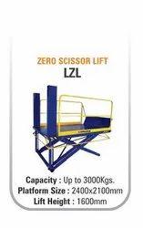 Hydraulic Zero Scissor Lift