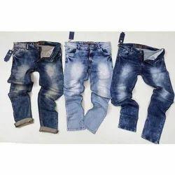 Casual Wear Blue Men Jeans