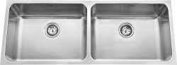 Low Radius Double Bowl Kitchen Sinks