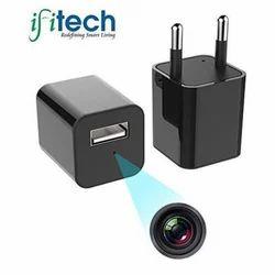 Black Ifitech Nano USB Charger Spy Camera