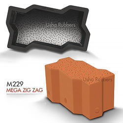 M 229 Mega Zigzag Mould