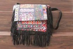 Vintage Banjara Shoulder Bag Women's Embroidery Cross Body Bag
