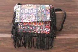 Vintage Banjara Shoulder Bag Women's Embroidery Cross Body Bag