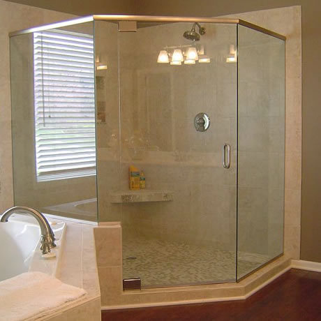 Srivatsa Intearch And Transparent Framed Shower Cubicle Work, Rs ...