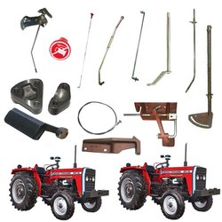 Massey Ferguson Throttle & Footrest MF 35/ 135/ 240/ 245/ 250/ 165/ 175/ 185/ 265/ 275/ 285