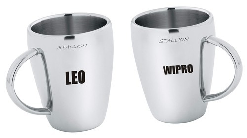 Stallion Coffee Mugs, Size: 4 Inch, for Home