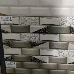 Glossy Rectangular Designer Ceramic Wall Tiles, Thickness: 0-5 mm, Size: 20 * 80 In cm