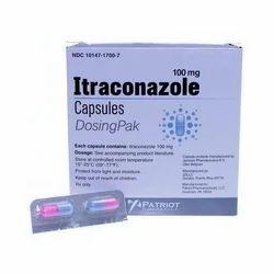 Capsule 100 mg Itraconazole Capsules